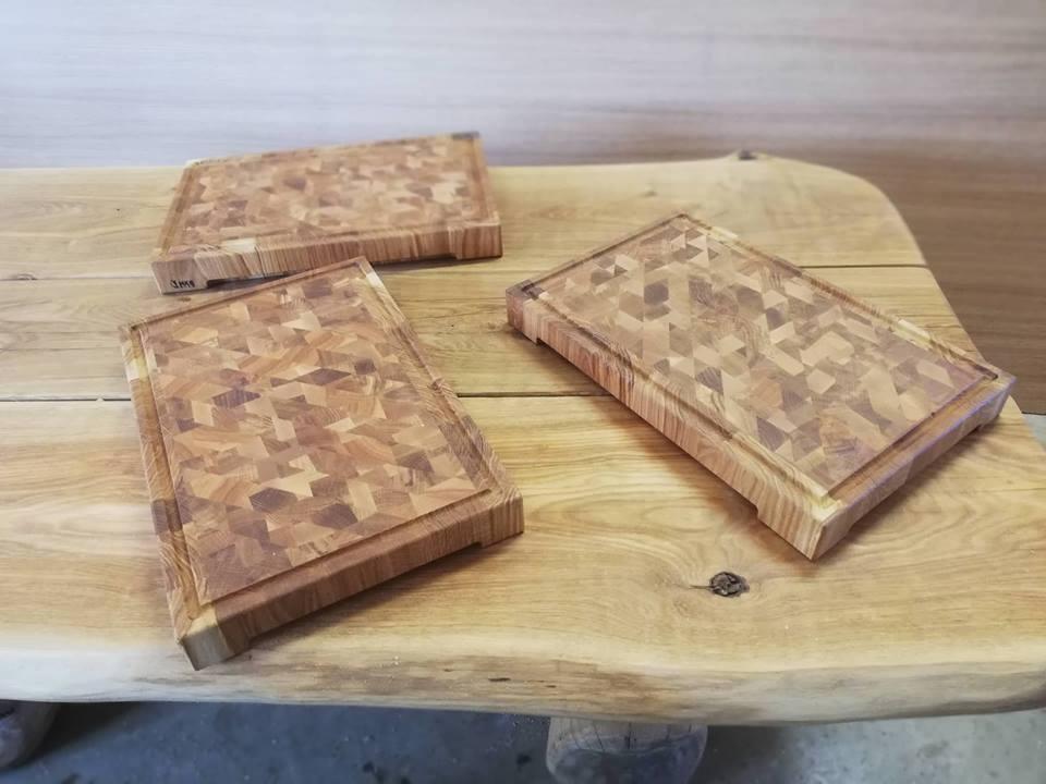 A4 puidust lõikelauad